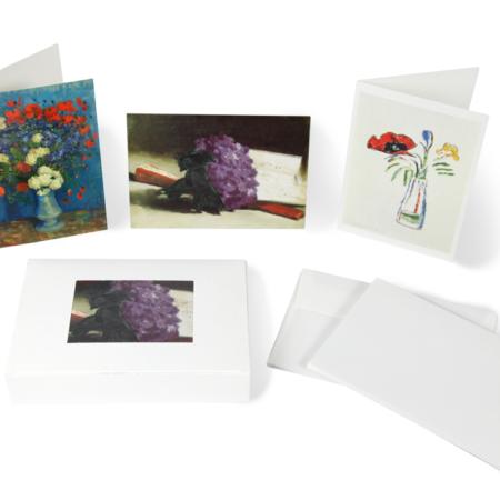 Box Blumen Kunst Karten