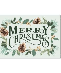 Lionskarte Merry Christmas