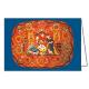 Lions Weihnachtskarte: Bemalte Spanschachtel